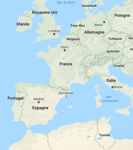 Siehe auf der Karte