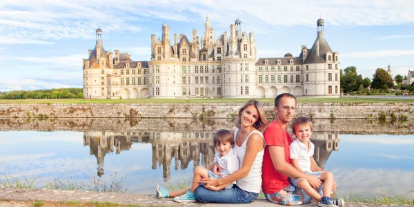 Stay near  the Loire's Castles